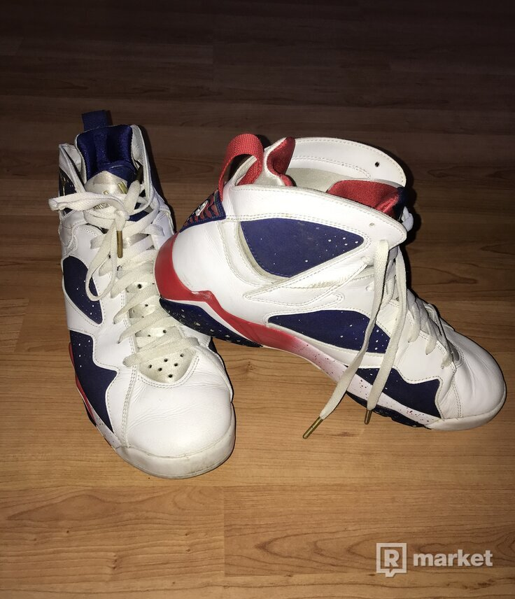 AIR JORDAN RETRO 7 - TINKER OLYMPIC ALTERNATE