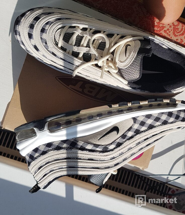 Nike Air Max 97 Premium Plaid Light Cream
