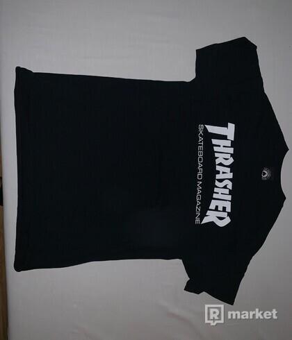 THRASHER - SKATE MAG BLACK