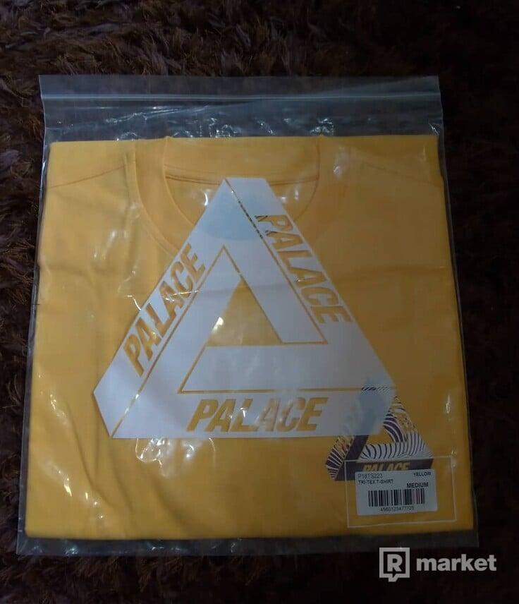 Palace Tri-Tex T-Shirt Yellow