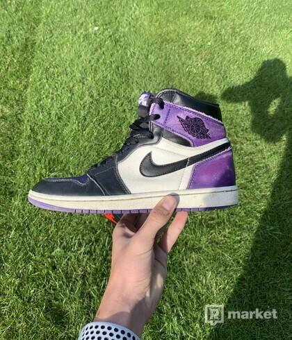 Jordan 1 Court Purple 1.0