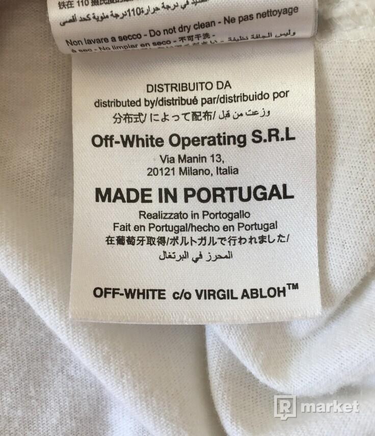 Off-White x Midnight Studios Split Tee