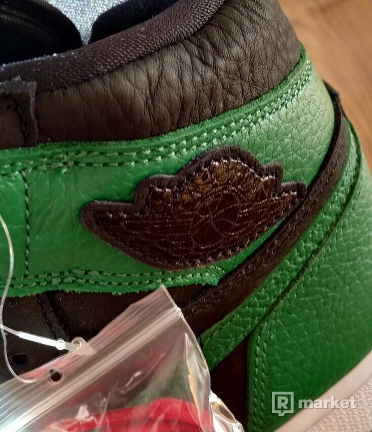 "Air Jordan 1 Retro High OG "" Pine Green """
