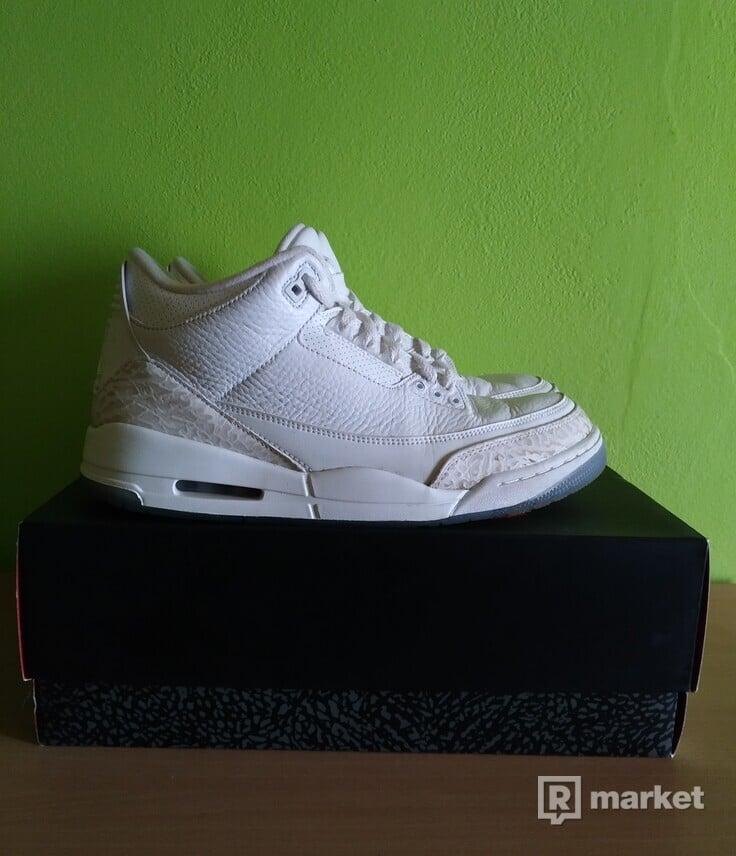 "Air Jordan 3 Retro ""Pure White"""
