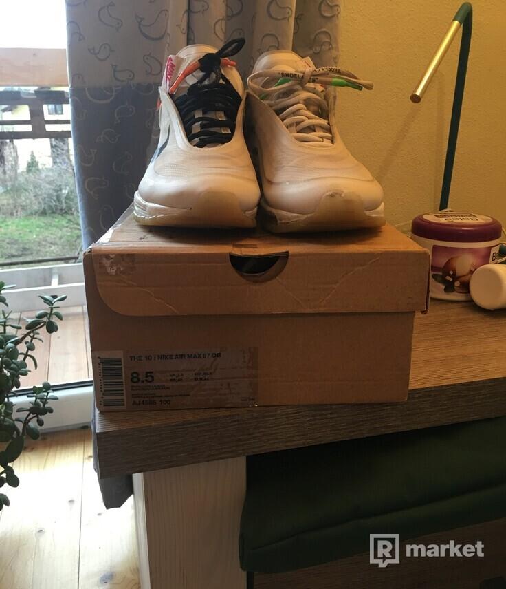 Nike airmax 97 x off white