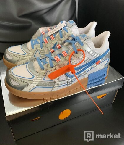 Nike Air Rubber Dunk Off-White UNC, 44, DS