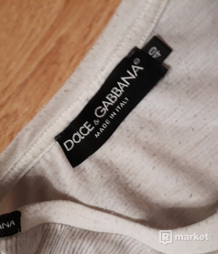 Tričko Dolce & Gabbana