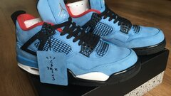 Jordan 4 Travis Scott Cactus Jack, 9US