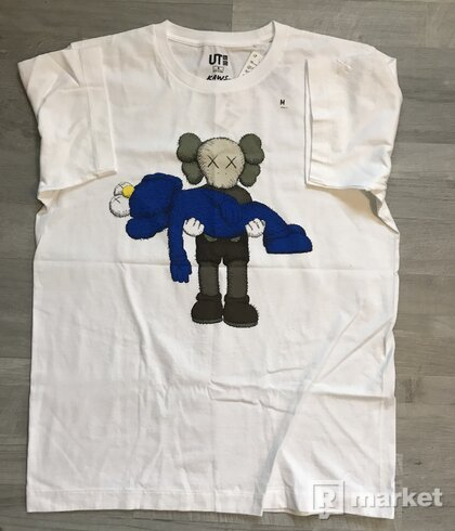 KAWS x Uniqlo Graphic Tee (Blue/Grey/White)