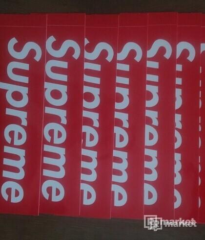SUPREME SAMOLEPKY / STICKERS