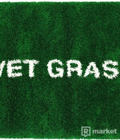 "Virgil Abloh x IKEA MARKERAD ""WET GRASS"" Rug 195x132 CM Green"