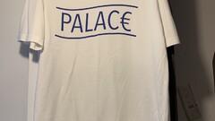 Palace Euro T-Shirt White