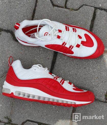 "Air Max 98 ""University  Red"" US9.5"