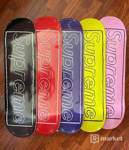 Supreme x Kaws Skate Deck set 5/5