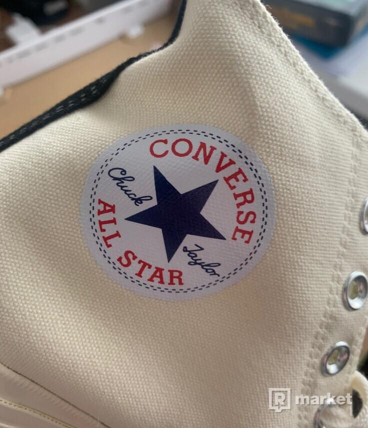 Comme Des Garcons x Converse CHUCK TAYLOR ALL STAR '70 HIGH
