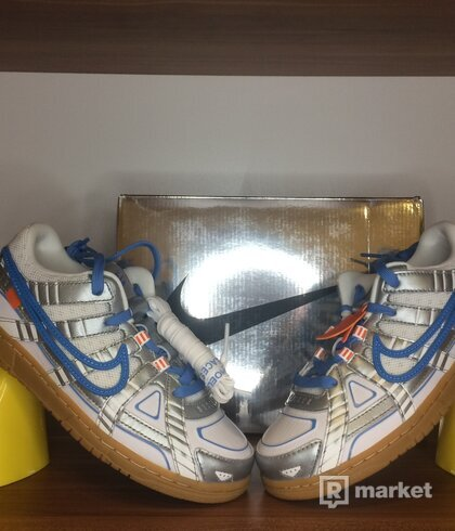 Nike Air Rubber Dunk OFF-WHITE 'University Blue' (PS) - Size 2Y/33.5