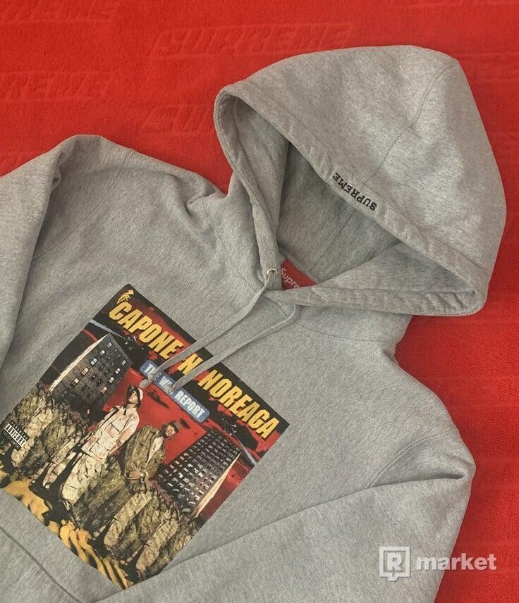 SUPREME caponne hoodie