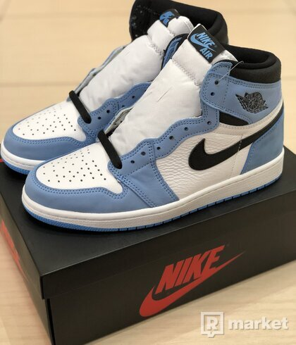Jordan 1 Retro High White University Blue