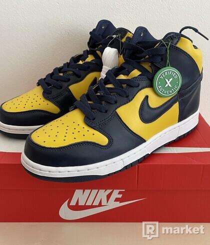 Nike Dunk High Michigan (2020) - US9
