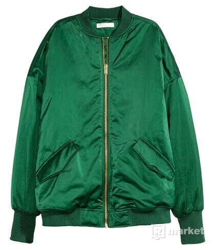 Zelená bombera /H&M