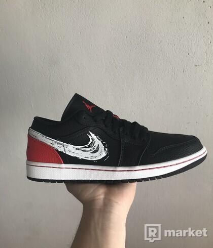 Air Jordan 1 Low Brushstroke