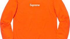 Supreme Box Logo longsleeve orange [XL]