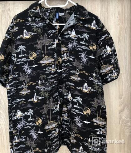 Košeľa s krátkym rukávom h&m