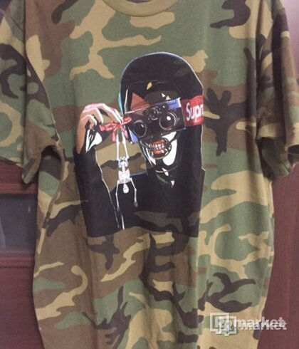 Supreme Creeper Tee Camo