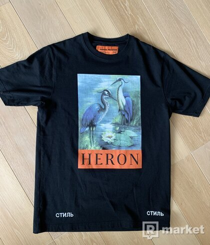 Heron Preston Flamingo print tee