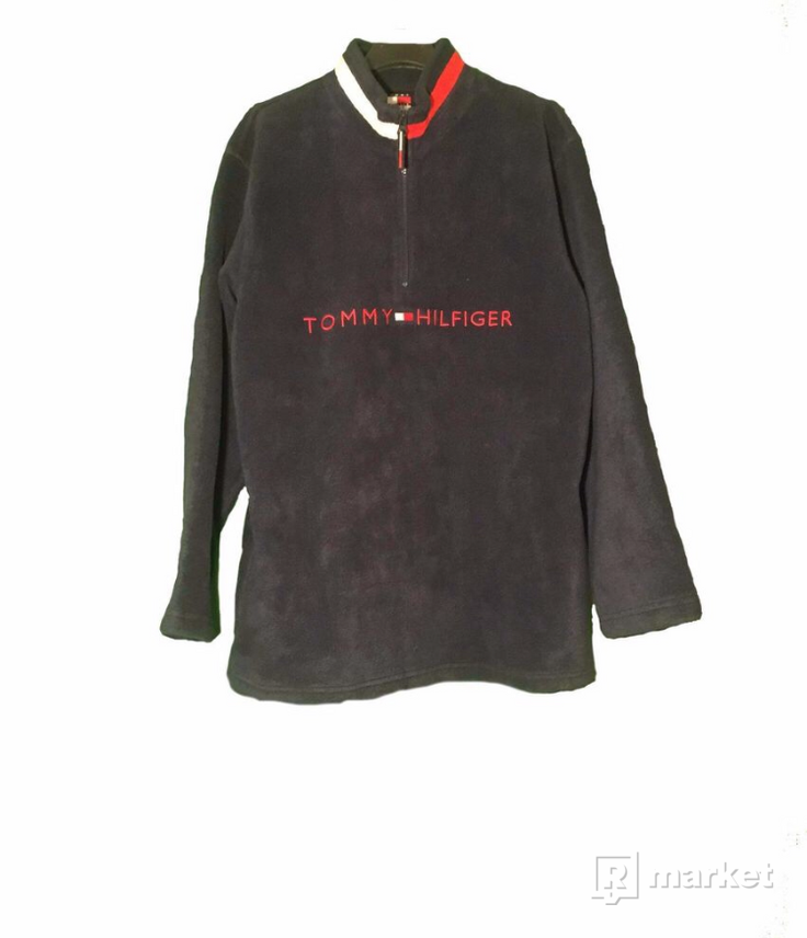 Fleece mikina tommy hilfiger