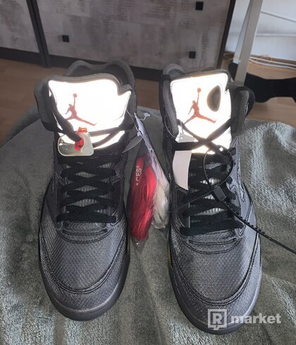 Jordan 5 off-white