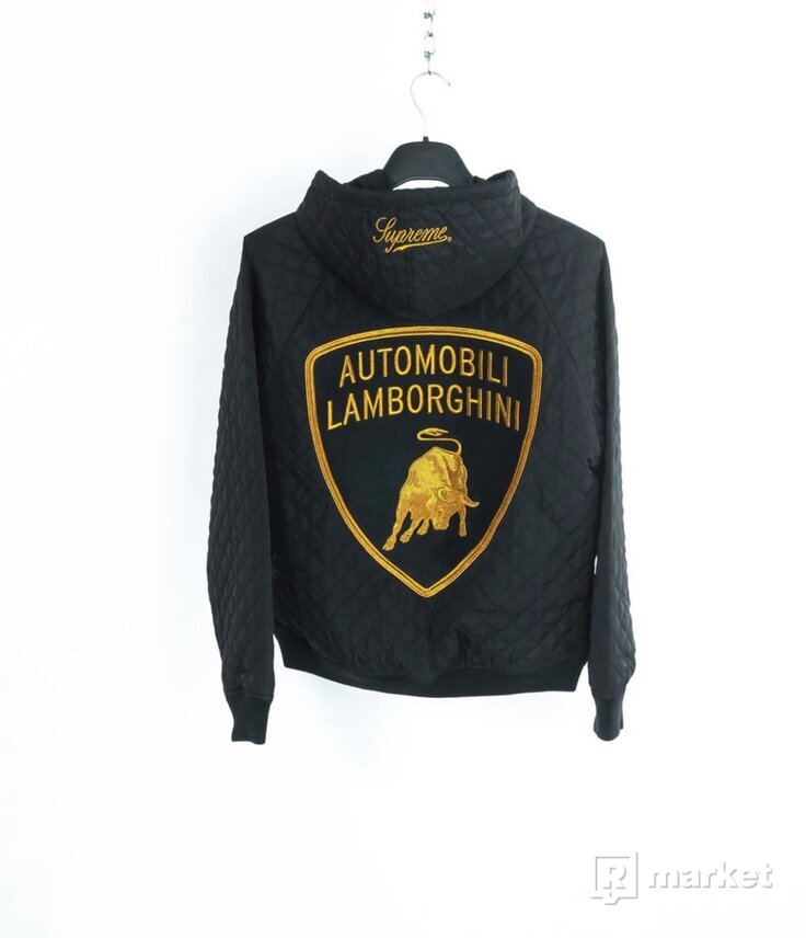 Supreme x Automobili Lamborghini Hooded Work Jacket