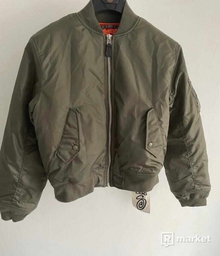 Stussy CDG Varsity Jacket