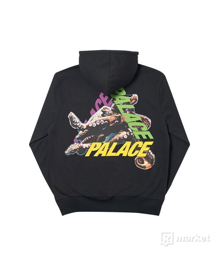 Palace octo hood black