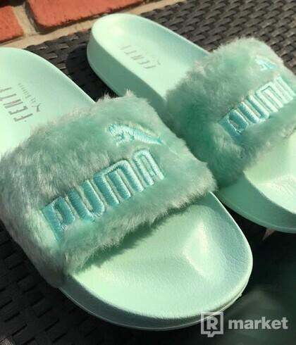Šľapky Fenty x Puma by Rihanna fur slides