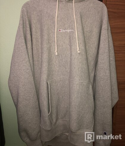 Champion X UO Winter Grey Marl Hoodie
