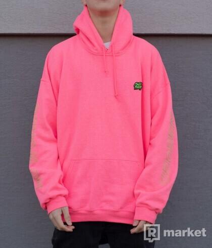 FCK THEM pink hoodie NOVÁ