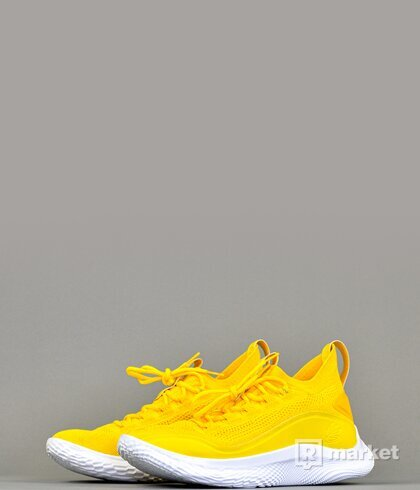 Under Armour Curry 8 Yellow