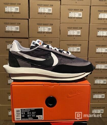 Nike x sacai waffle racer black