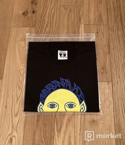 Palace Suburban Bliss Elf Head T-Shirt Black
