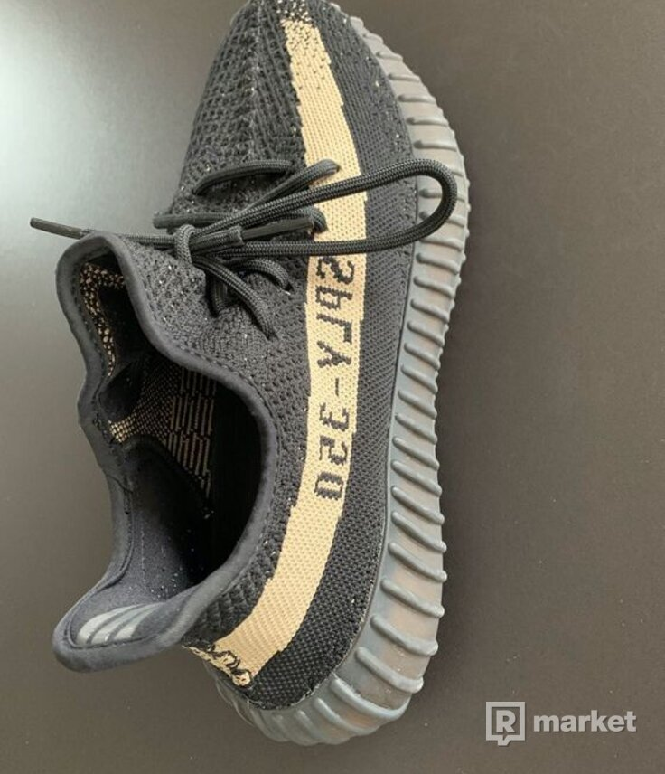 Yeezy Boost 350 V2 Core Black Green