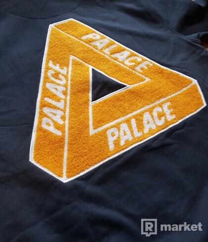 Palace Tri-Chenille Hood Navy