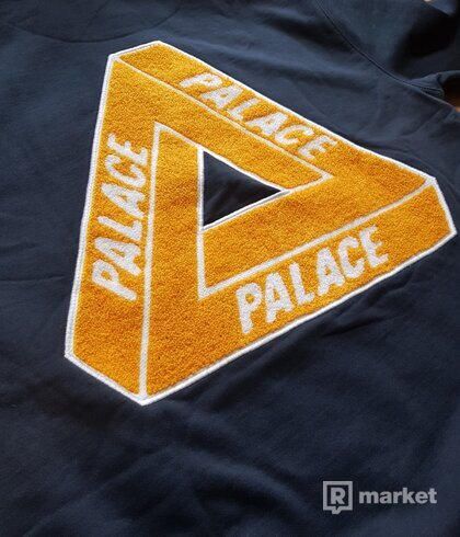 Palace Tri-Chenille Hood Navy