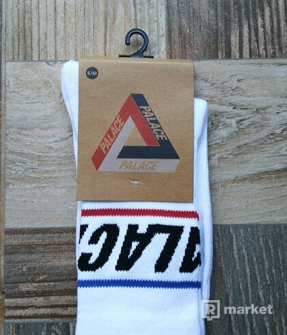 Palace Socks white