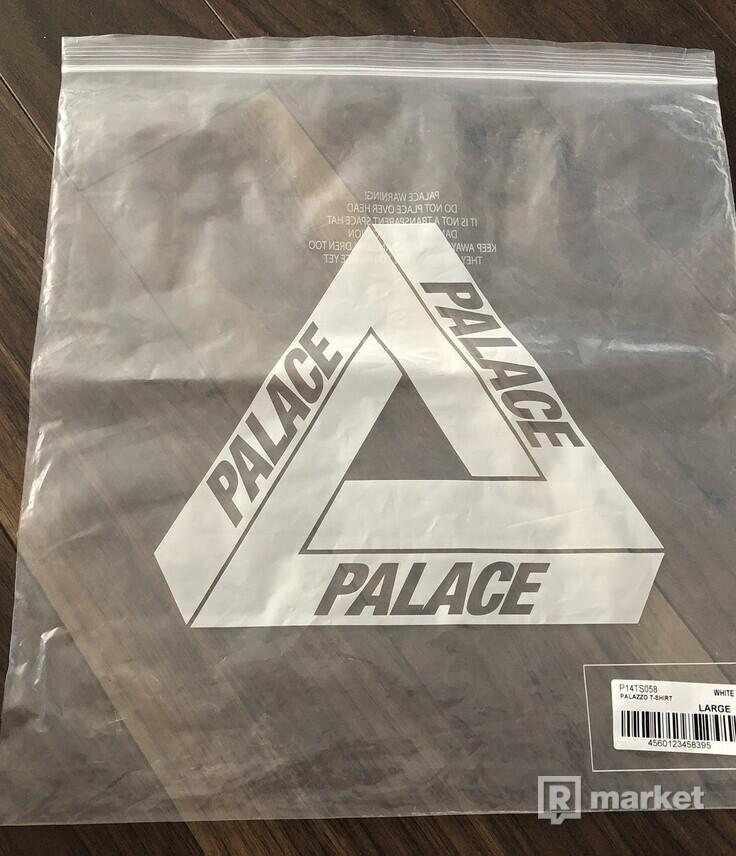 Palace Palazzo White Tee
