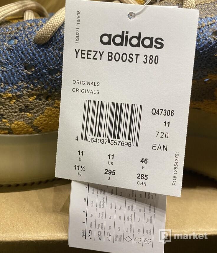 Yeezy Boost 380 Blue Oat