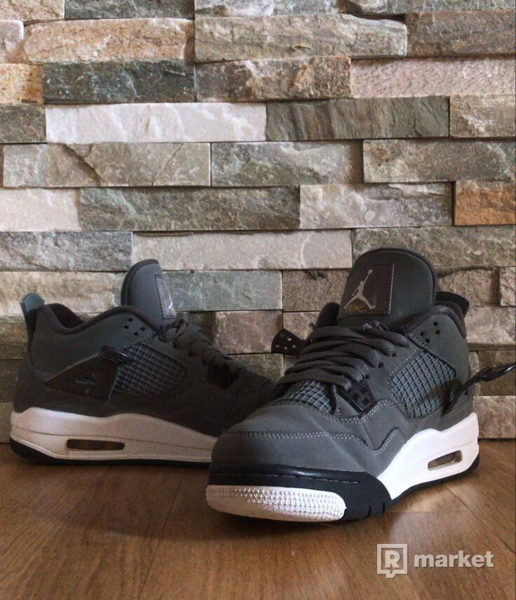 "Air Jordan 4 retro ""cool grey"" (gs)"