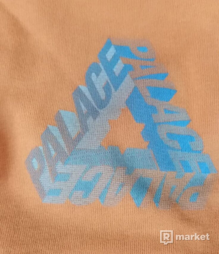 Palace P-3D tee orange