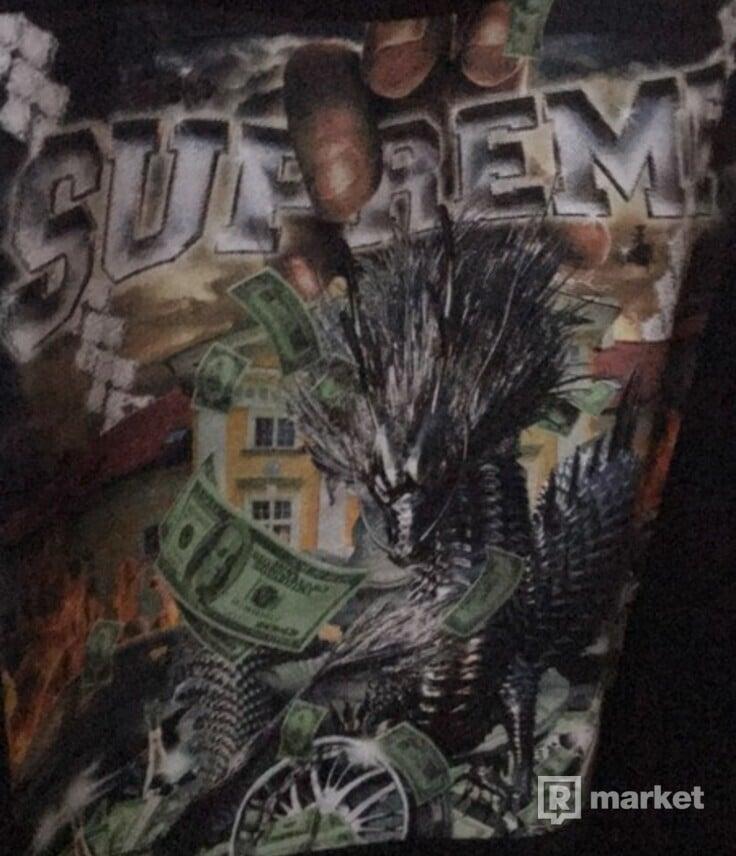 Supreme dragon tee