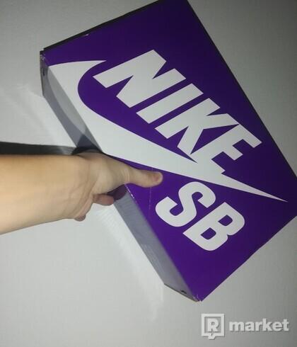 Nike blazer royal triple White